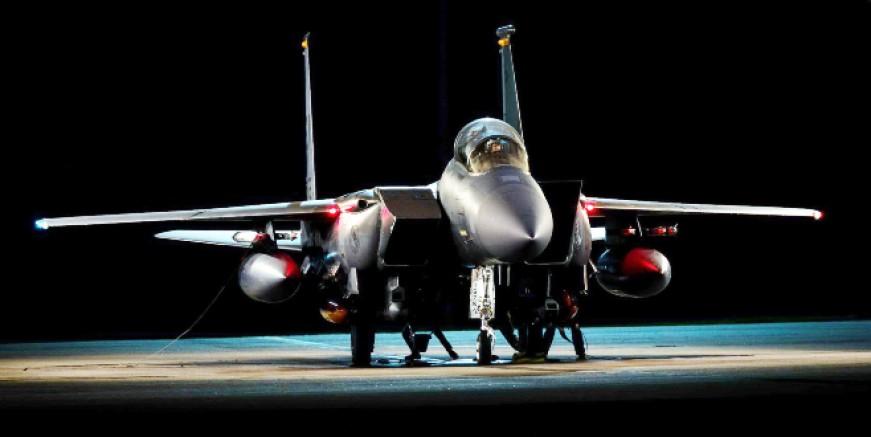 ABD'nin F 15 savaş uçakları Yunanistan'a konuşlandı