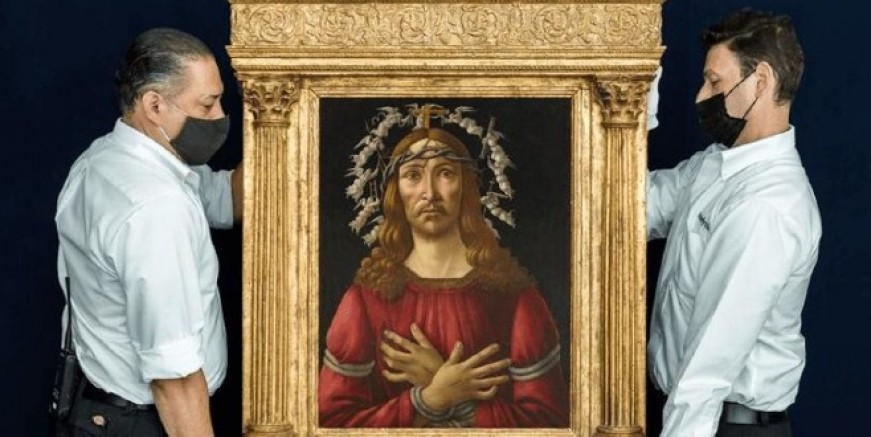 Açık artırmaya çıkacak Botticelli tablosu için 40 milyon dolara satılacak