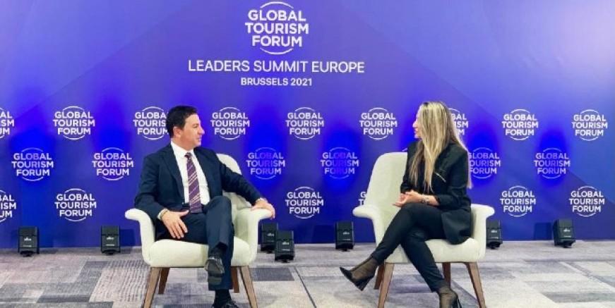 Ahmet Aras Global Turizm Forumu'nda Türkiye'yi Temsil Ediyor