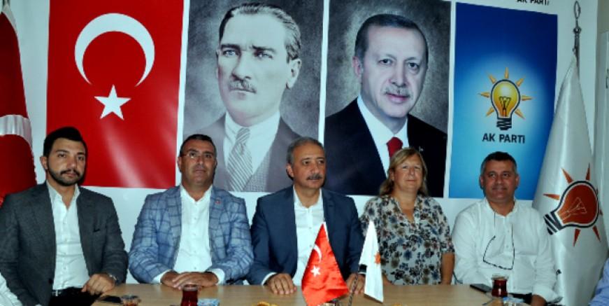 AK PARTİ İL BAŞKANI KADEM METE'DEN BODRUM' A İYİ HABERLER
