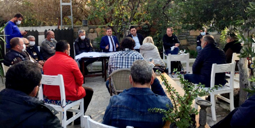 "Ak Partili Gökmen ""Dere Sokak'ta Ahmet Aras'ı bekledik, söz verdi gelmedi, üzgünüm"""