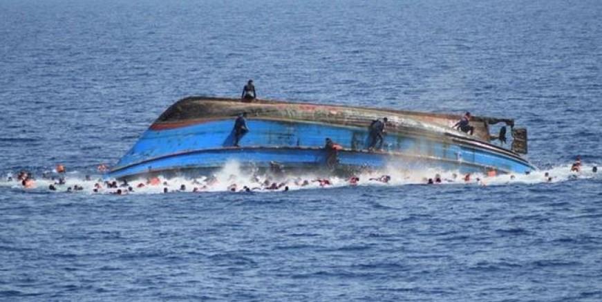 Akdeniz'de göçmen faciası : En az 300 göçmen öldü