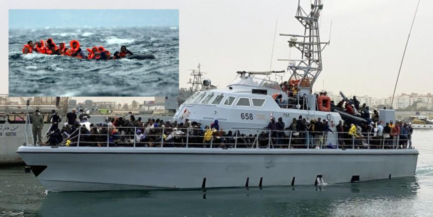 Akdeniz'de göçmen botu battı, en az 11 ölü, 170 kişi ise son anda kurtarıldı
