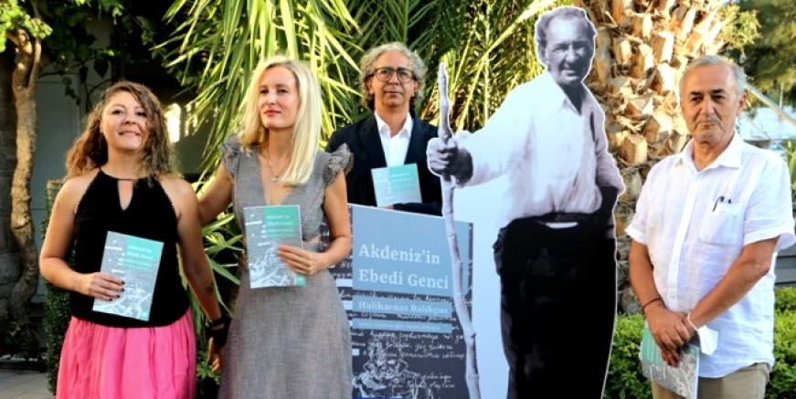 Akdeniz'in Ebedi Genci Halikarnas Balıkçısı, isimli kitap tanıtıldı