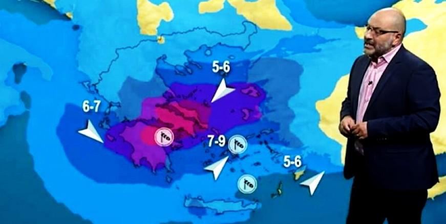 Akdeniz Kasırgası geliyor, Ege'yi de vuracak