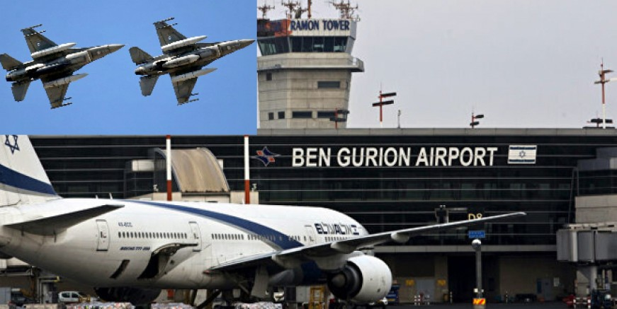 Akdeniz üzerindeki İsrail yolcu uçağına bomba ihbarı  NATO'yu alarma geçirdi.