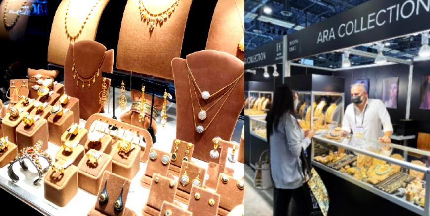 Ali Rıza Akdolu'nun mücevherleri Las Vegas Mücevher Fuarı'nda