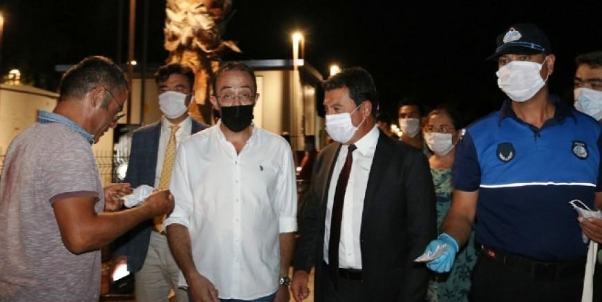 """Aras """"Bodrum'da sosyal mesafe, maske  ve pandemi kurallarına uyuluyor"""""""