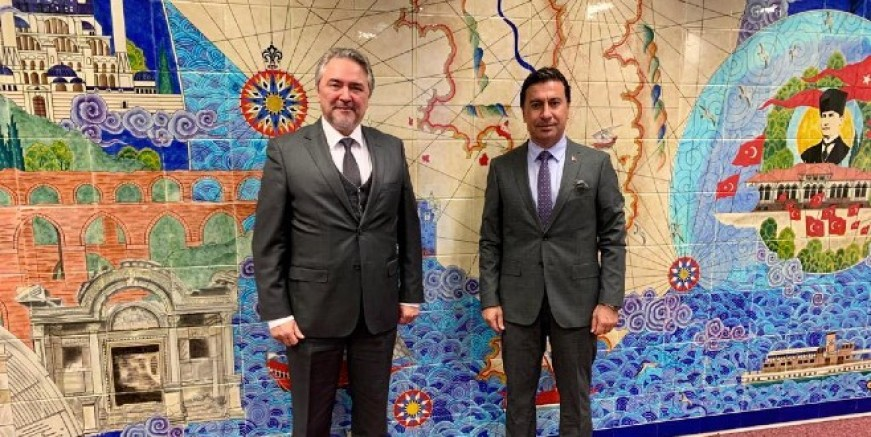 Aras, Brüksel'den sonra Malta'da Türkiye'yi temsil edecek