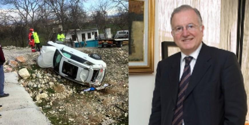 Aspat Beach tesislerinin patronu Murat Balkan kazada yaşamını yitirdi