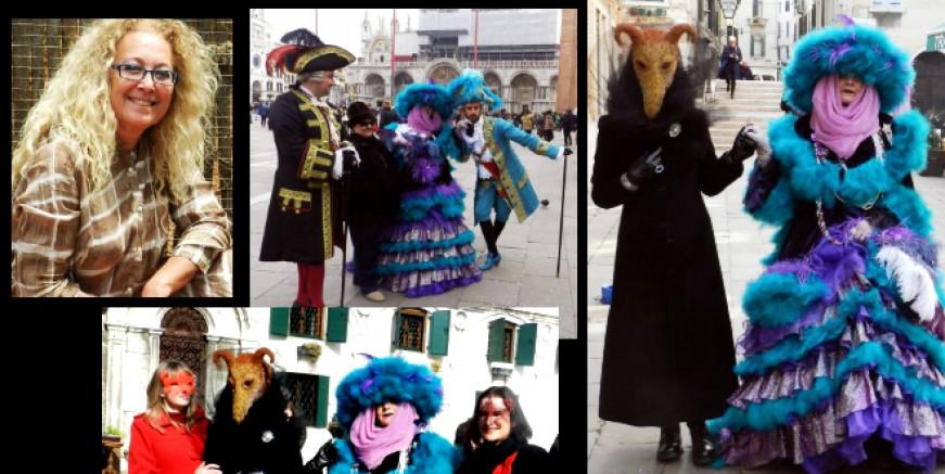 Av. Mine Howie'ye kötü haber:)) Venedik Karnavalı iptal edildi..