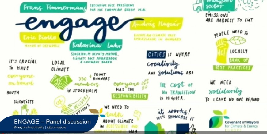 Avrupa Belediye Başkanları  İklim Değişikliği ve Enerji Tüketimini Görüştü
