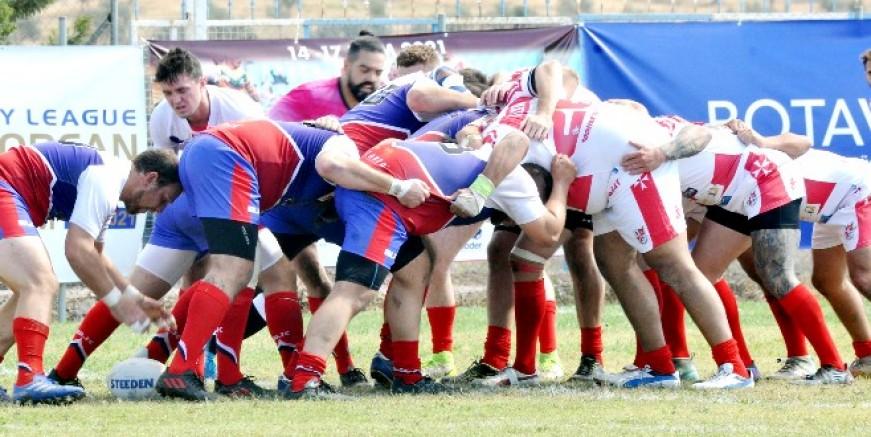 Avrupa ligi rugby maçları Mumcular'da kıran kırana başladı