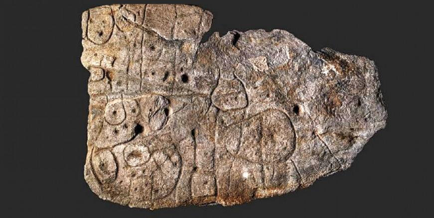 Avrupa'nın en eski 3 boyutlu haritası, 5000 yıllık levha yeniden gün yüzüne çıkarıldı