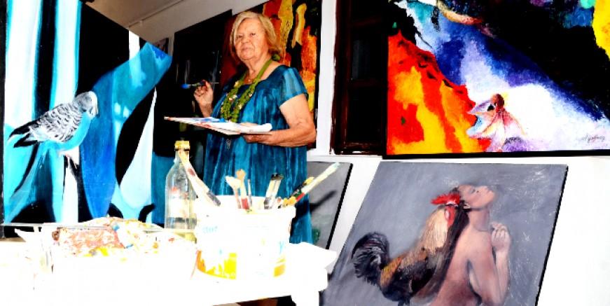 Aysel Gökmen: Tam 70 yıldır resim yapıyorum, çizmezsem yaşayamam
