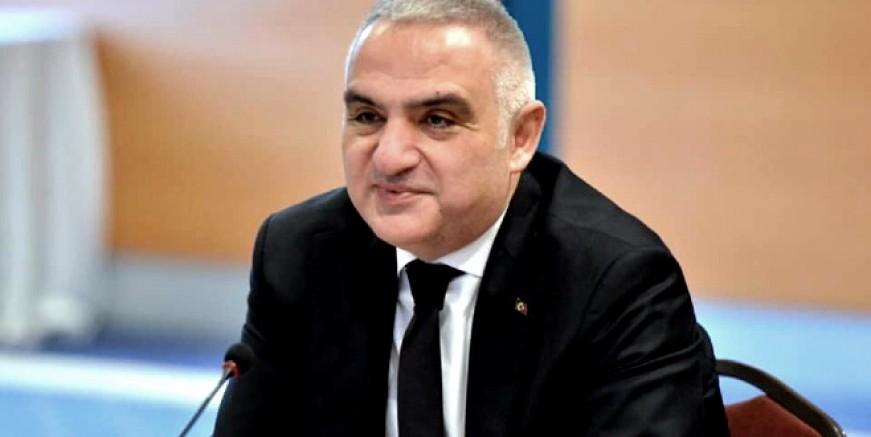 """Bakan Ersoy: """"Otellerin yüzde 50'sinin açılmasıyla hedefe ulaşacağız"""""""