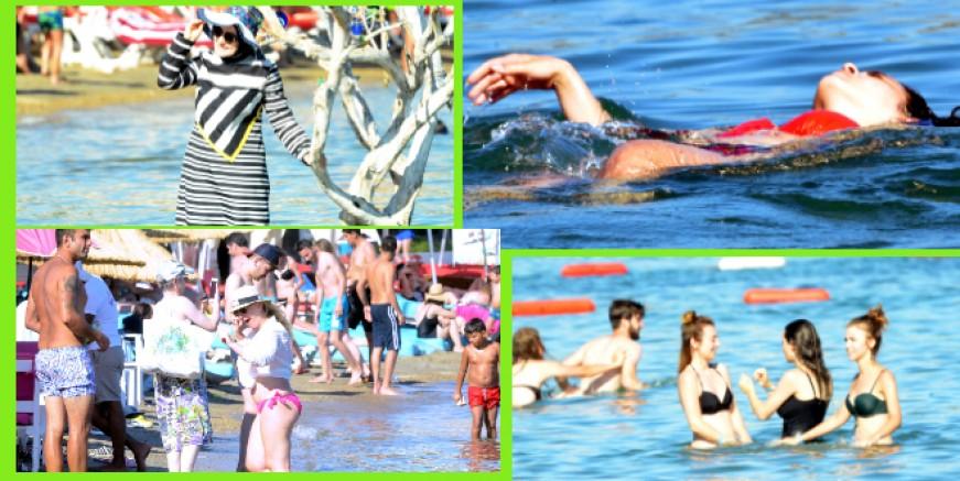 Bayram tatili öncesi Bodrum'da yoğunluk başladı