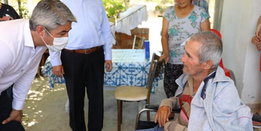Belediye Başkanı Oktay deprem bölgesinde