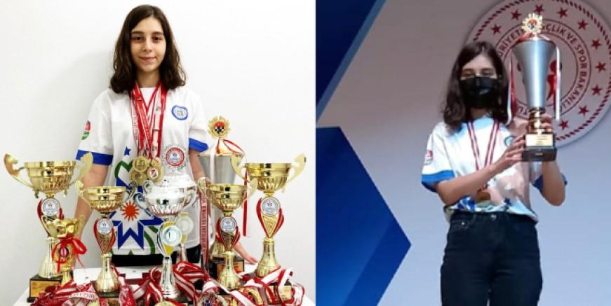 Bilgesu satrançta Türkiye'yi Dünya Şampiyonası'nda temsil edecek