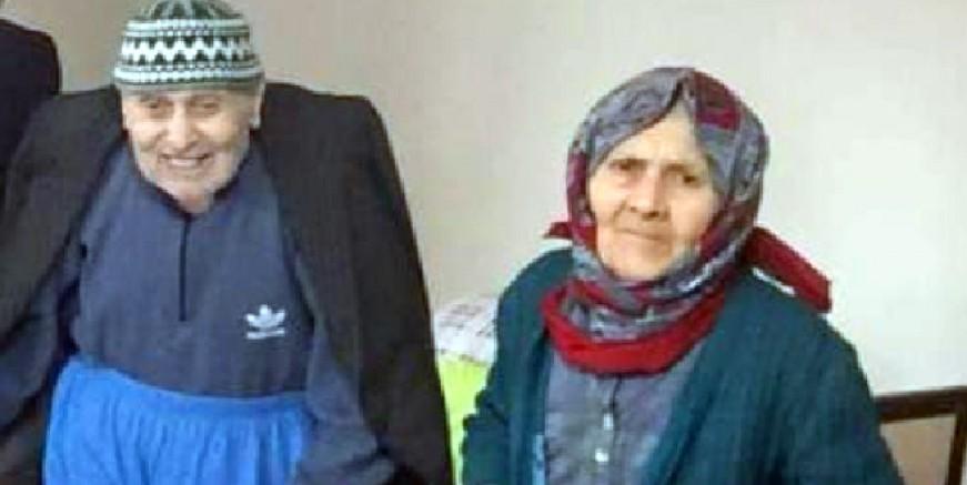Birin ölümüne diğerinin yüreği dayanmadı. 65 yıllık evli çift aynı anda yaşamını yitirdi