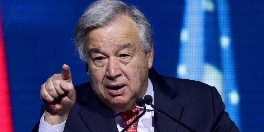 Birleşmiş Milletler'den çok ciddi uyarı: Dünya, felaket bir yolda…