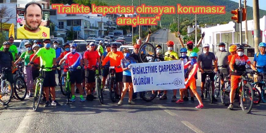 Bisikletime Çarparsan Ölürüm, eylemi yaptılar
