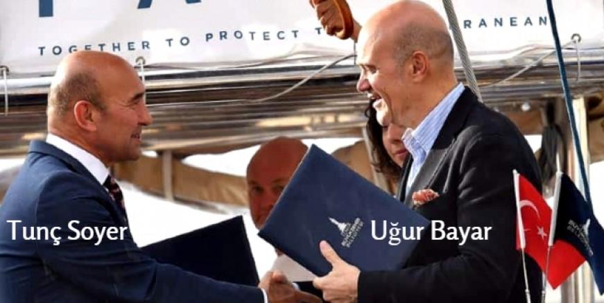 BLUE PANDA İZMİR'E ULAŞTI, CHP' Lİ TUNÇ SOYER KARŞILADI