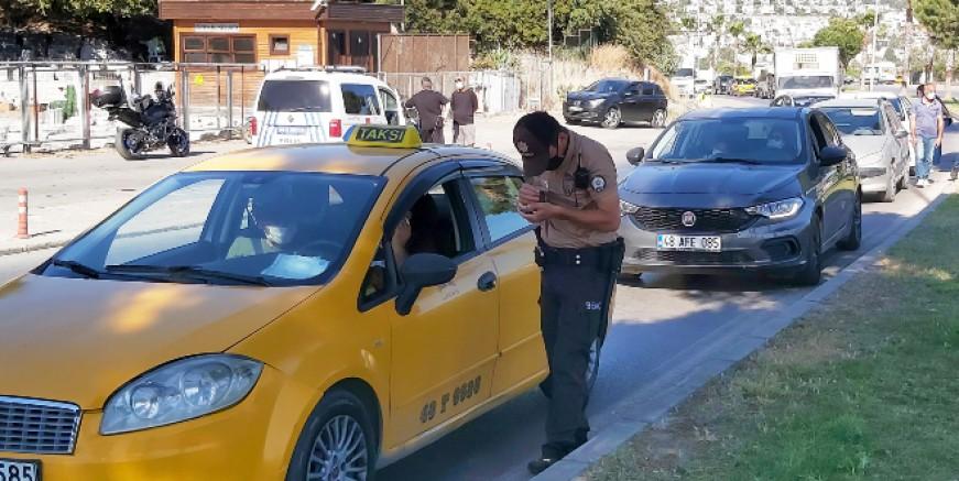 Bodrum'da kapanmanın 13. Gününde denetimler devam ediyor