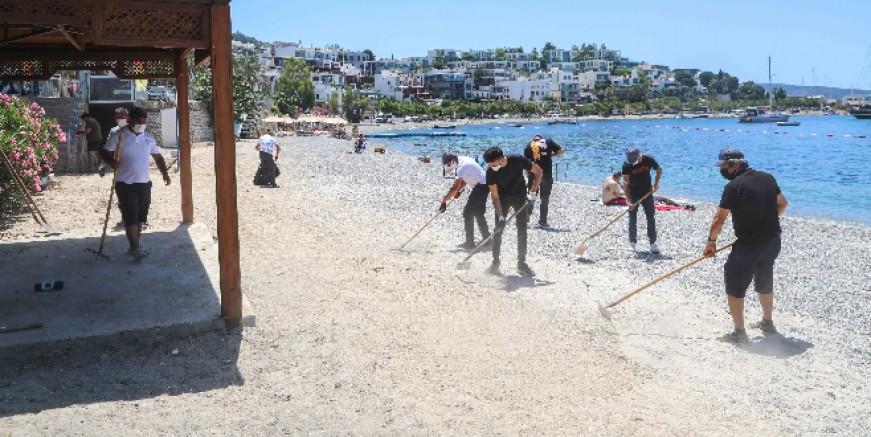 Bodrum Belediyesi sahillere mobil kafe yerleştirecek