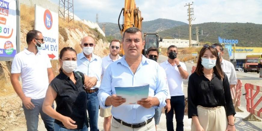 Bodrum'da bitmeyen yeni devlet hastanesi tepkisi