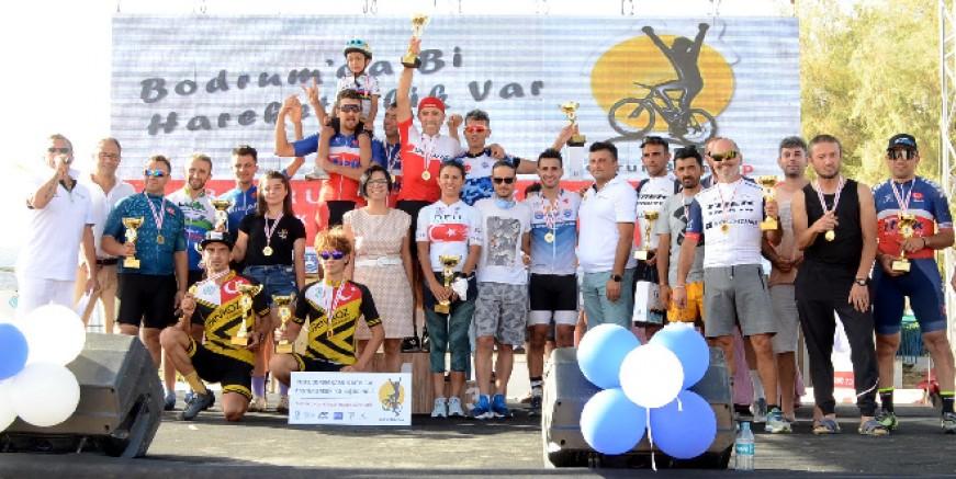 Bodrum'da dağ bisikleti yarışı heyecanı yaşandı