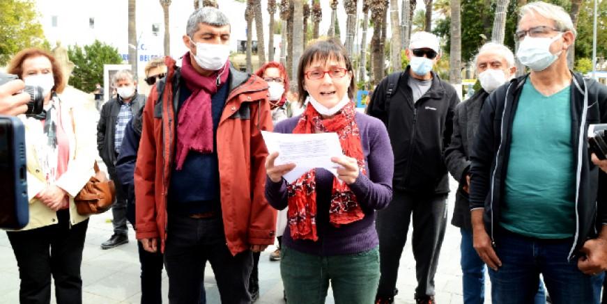 Bodrum'da doğalgaz istemiyoruz eylemi, Ahmet Aras müjde vermişti