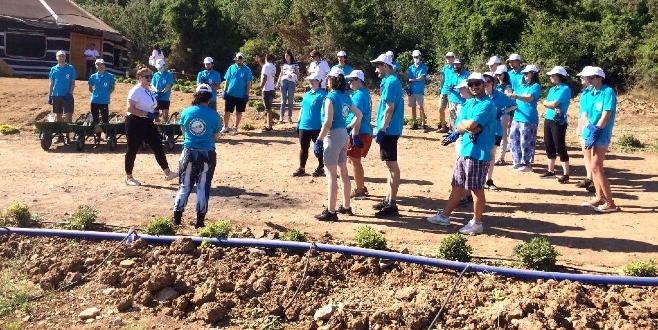 Bodrum'da gençler tarımı yaparak öğrenecek