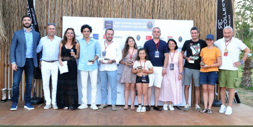 Bodrum'da iki Klasik otomobil yarışı ödülleri sahiplerini buldu
