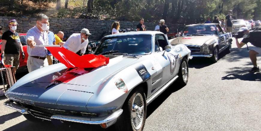 Bodrum'da klasik otomobil yarışı heyecanı başladı