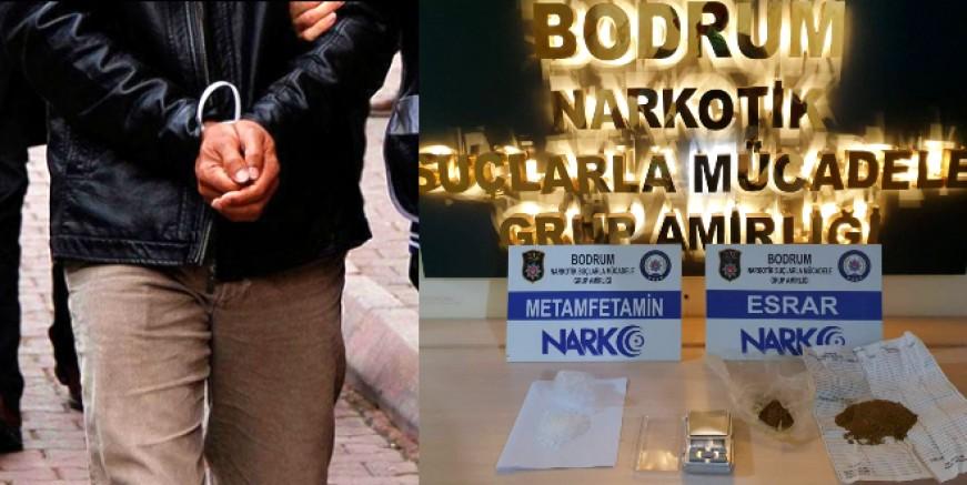Bodrum'da Narkotik ekipleri uyuşturucu ile mücadelesine devam ediyor