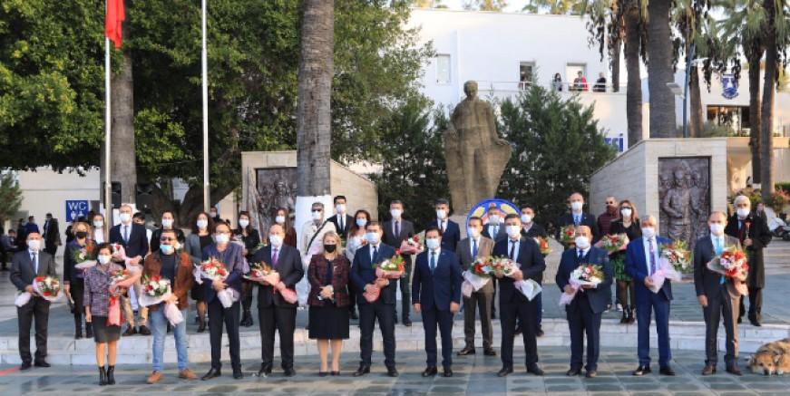 Bodrum'da öğretmenlerimiz unutulmadı