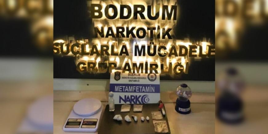 Bodrum'da uyuşturucu operasyonu: 2 gözaltı