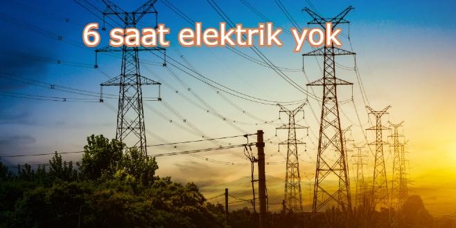 Bodrum'da yarın bu mahallelerde elektrik kesintisi uygulanacak