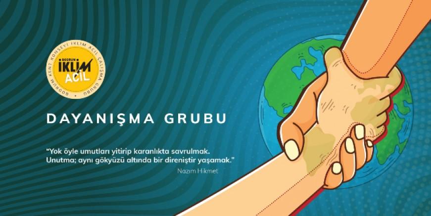 """BODRUM İKLİM ACİL """"DAYANIŞMA GURUBU"""" OLUŞTURULDU"""