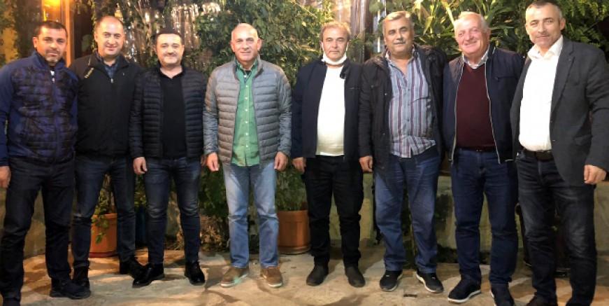 Bodrum siyasetinin önemli isimleri Kızılağaç'ta buluştu