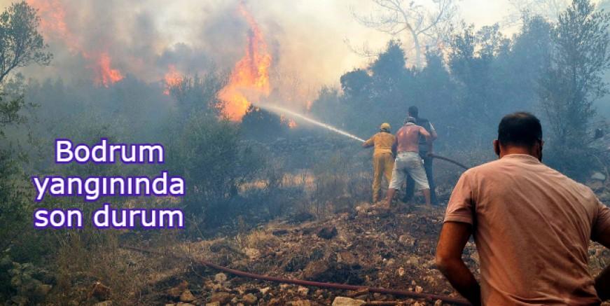 Bodrum yangını durdurulamıyor, ölümüne mücadele devam ediyor