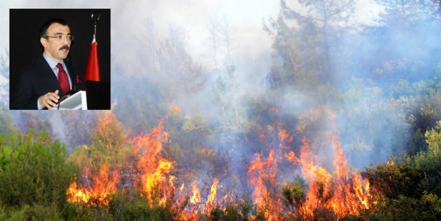 Bodrum yangını üç noktadan çıkmış, sabotaj şüphesi araştırılıyor