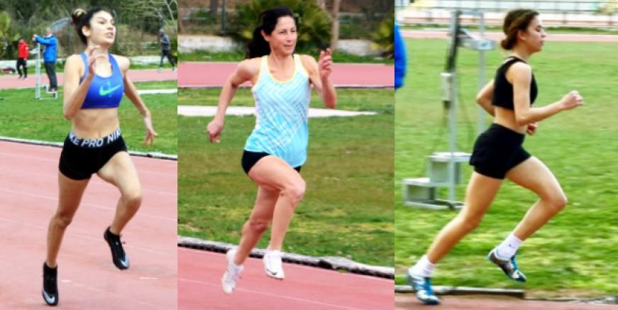 Bodrumlu atletler İzmir'de fırtına gibi esti