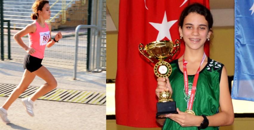 Bodrumlu Mihraç Ayan, İzmir'de şampiyonluğa koştu