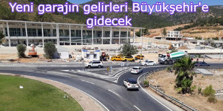 Büyükşehir Belediyesi Yeni Bodrum Garajı'ndaki işyerlerinin kiralanması için ihale açtı