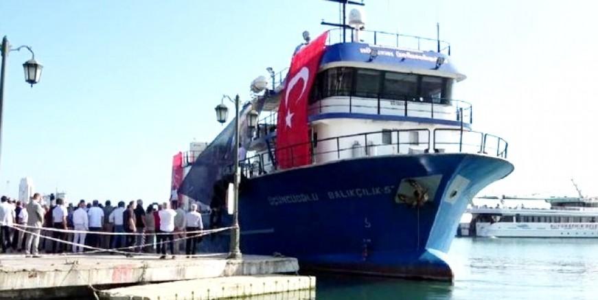 CHP Gemisi yola çıktı, Bodrum'a da uğrayacak