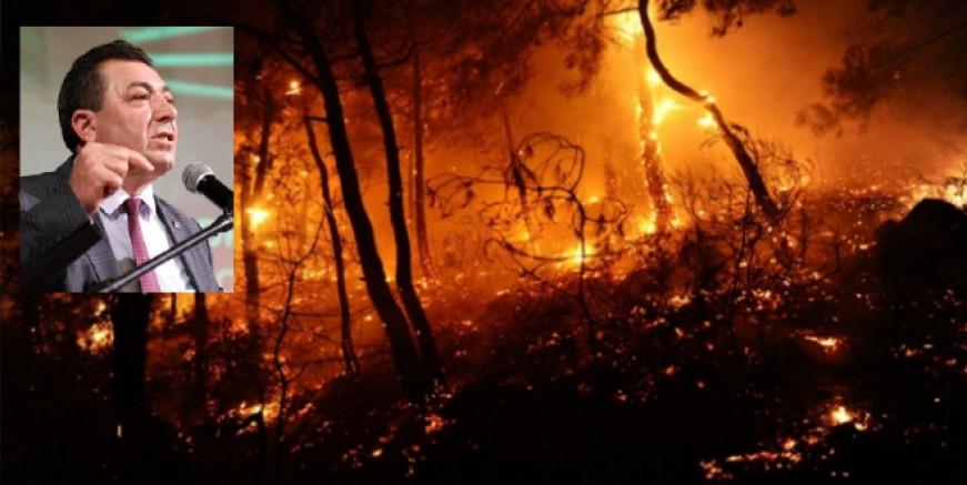 CHP'li Alban: Bu yaz ormanlarımızda sabotaj olayları artabilir