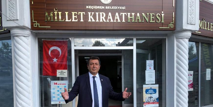 CHP'li Alban: Millet Kıraathaneleri boş kaldı, Milleti kekleyemediler