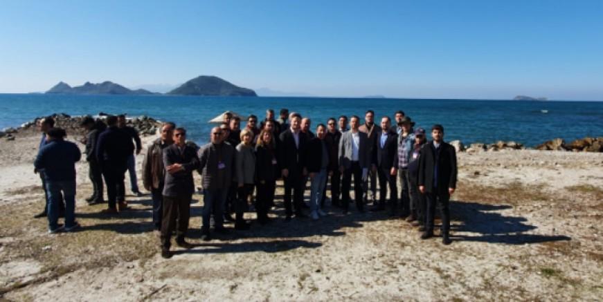 CHP'Li Erbay: Sahil Güvenlik Komutanlığı için Turgutreis  plajı uygun değil.